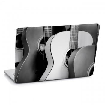 Samolepka na notebook - Kytary