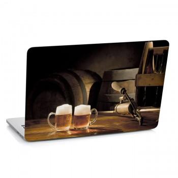 Samolepka na notebook - Dvě piva