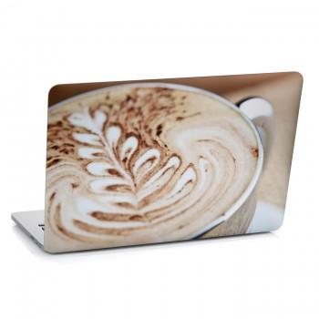 Samolepka na notebook - Detail kávy
