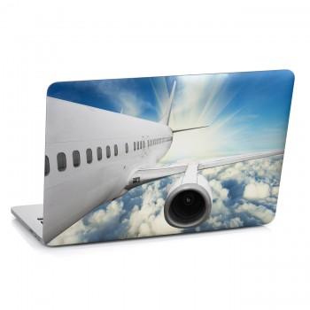 Samolepka na notebook - Letadlo detail