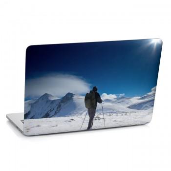Samolepka na notebook - Cesta na Severní pól