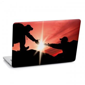 Samolepka na notebook - Pomocná ruka