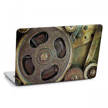 Samolepka na notebook - Ozubená kola