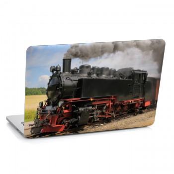Samolepka na notebook - Parní lokomotiva