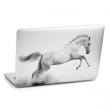 Samolepka na notebook - Bílý kůň