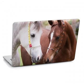 Samolepka na notebook - Koně