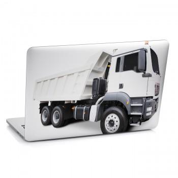 Samolepka na notebook - Bílý náklaďák