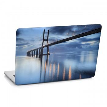 Samolepka na notebook - Most
