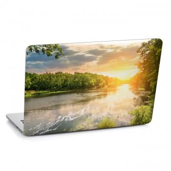 Samolepka na notebook - Pohled na řeku