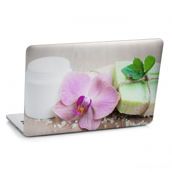 Samolepka na notebook - Aranžmá s orchidejí
