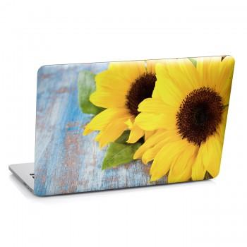 Samolepka na notebook - Slunečnice
