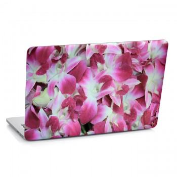 Samolepka na notebook - Růžové květy