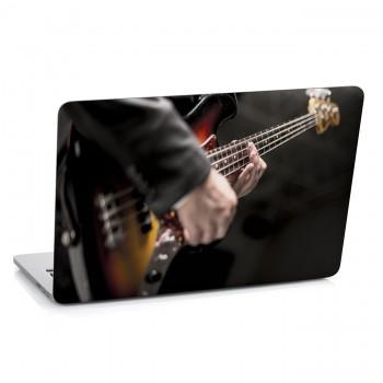 Samolepka na notebook - Kytarista