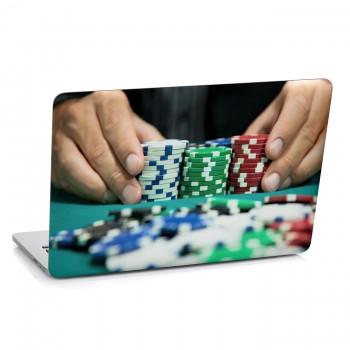 Samolepka na notebook - Poker