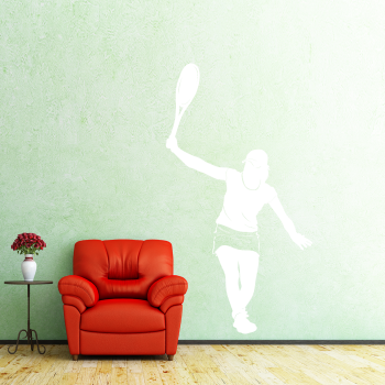 Samolepka na zeď - Tenistka