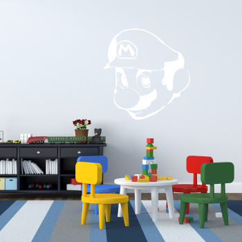 Samolepka na zeď - Mario