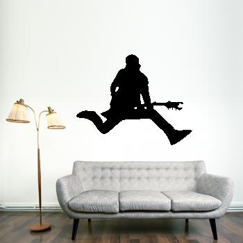 Samolepka na zeď - Kytarista