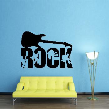 Samolepka na zeď - Rock
