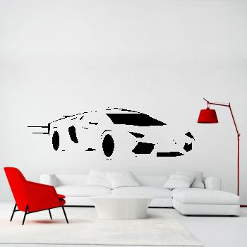 Samolepka na zeď - Lamborghini