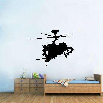 Samolepka na zeď - Vojenská helikoptéra
