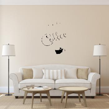 Samolepka na zeď - Coffee