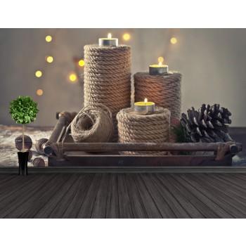 Tapeta - Zátiší svíček