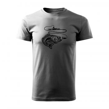 Tričko s potiskem - Rybář
