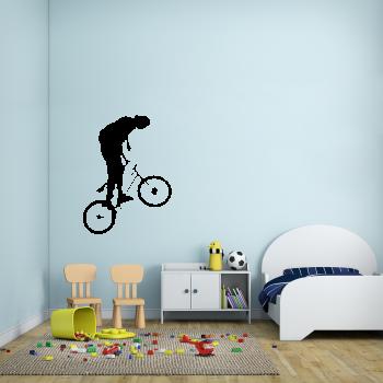 Samolepka na zeď - BMX