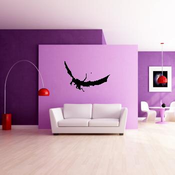 Samolepka na zeď - Drak