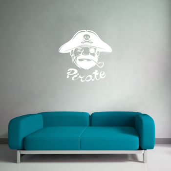 Samolepka na zeď - Pirát