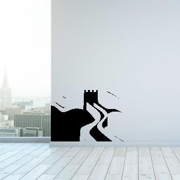 Samolepka na zeď - Velká Čínská zeď