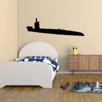 Samolepka na zeď - Ponorka
