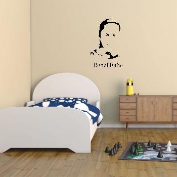 Samolepka na zeď - Ronaldinho