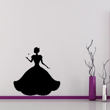 Samolepka na zeď - Princezna