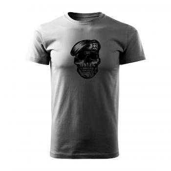 Tričko s potiskem - Soldier Skull