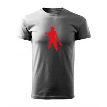 Tričko s potiskem - Hasič