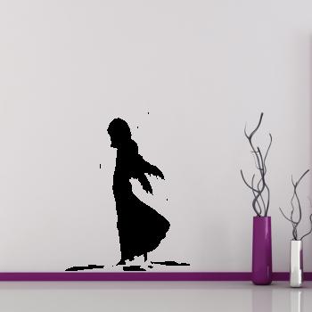 Samolepka na zeď - Zmoklý anděl