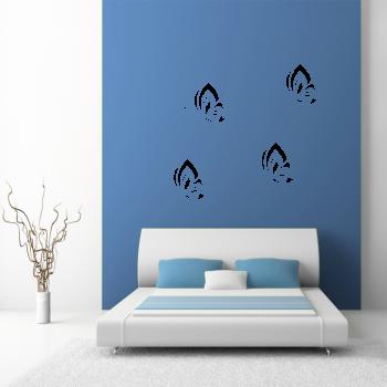 Samolepka na zeď - Motýli set