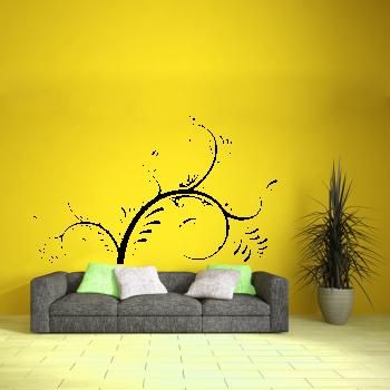 Samolepka na zeď - Floral 2