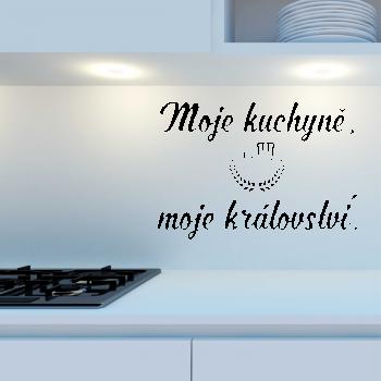 Samolepka na zeď - Moje kuchyně