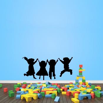 Samolepka na zeď - Děti