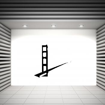 Samolepka na zeď - Kalifornský most