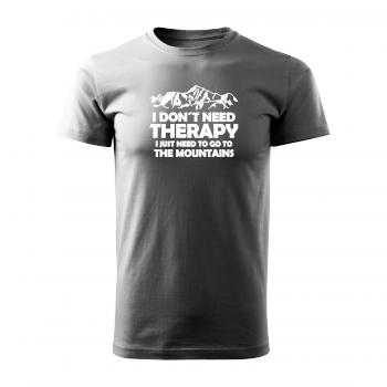 Tričko s potiskem - I don´t need therapy