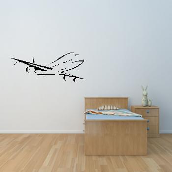 Samolepka na zeď - Letadlo