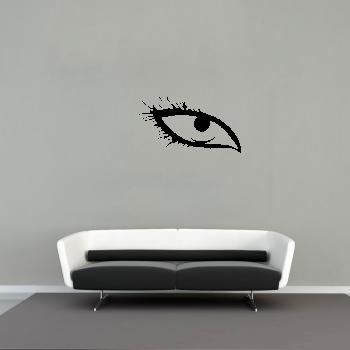 Samolepka na zeď - Oko