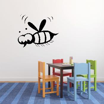Samolepka na zeď - Včelka