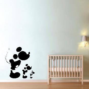 Samolepka na zeď - Mickey mouse