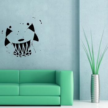 Samolepka na zeď - Bubeníci