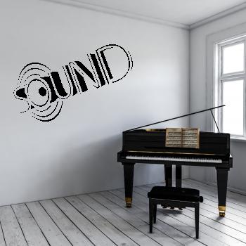 Samolepka na zeď - Sound