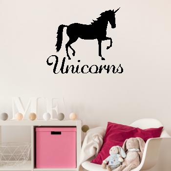Samolepka na zeď - Unicorn